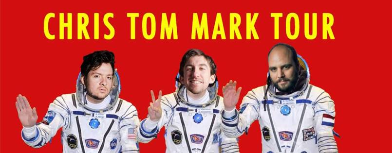 Chris Locke Tom Henry Mark Little Tour Banner