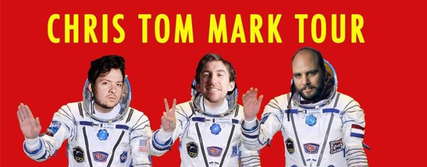 Chris Locke Tom Henry Mark Little Tour Banner